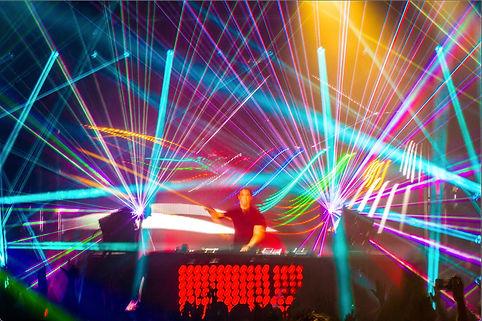 930 Club Creative Concert Laser Light Show DC