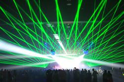 Bright Concert Laser Lights Golden 1 Cen