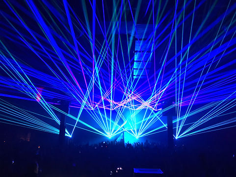 PNC Music Pavillion Charlotte, NC Laser Show