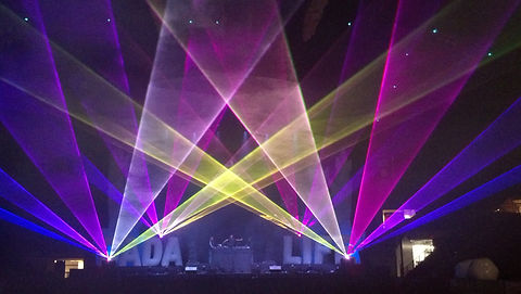 Big Bright RGB Professional Special Event Laser Show