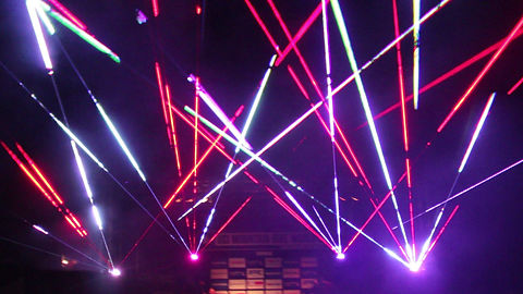 Concert Laser Light Show in Milwaukee WI