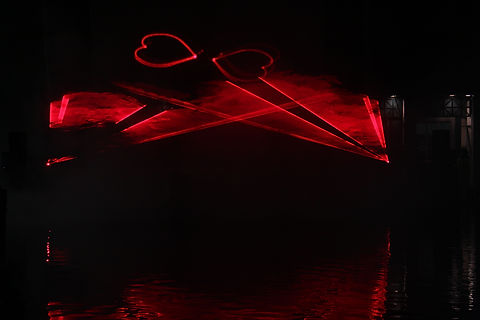 Civic Speical Event Laser Show Indiana indianapolis