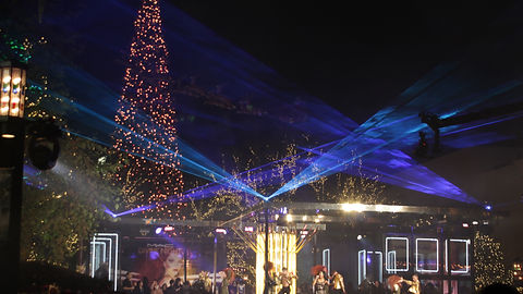 Outdoor Special Event Laser Light Show Show San Diego