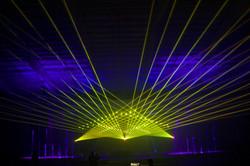 Delmar Hall Concert Laser Light Show St