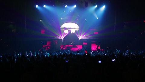 Concert Laser Show for HARDWELL in Philadelphia PA