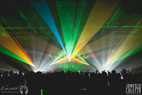 Ace of Spades Sacramento, CA Laser Light Show