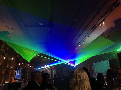 McCormick Place Convention Center Special event laser show