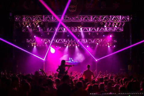 Whilte Eagle Hall Concert impressive Laser show