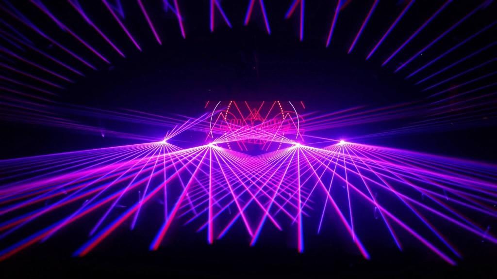Ball Arena Concert Laser Show Denver, CO