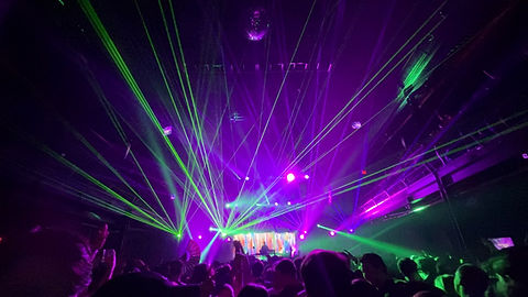 Special Effects and Lasers Terminal 5 NYC