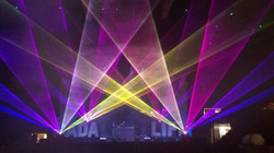 Granada Theatre Special FX Lasers Texas
