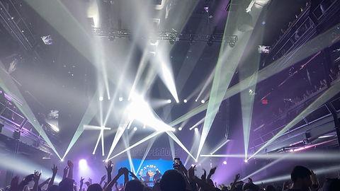 Concert laser light show in Louisville Kentucky