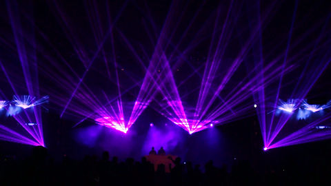 Rhode Island concert with laser show in Providence