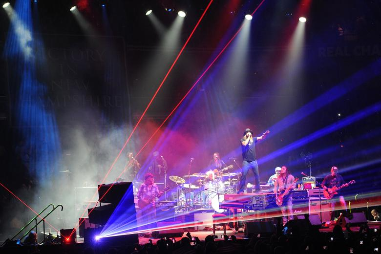 Kid Rock Country and Rock Concert Laser