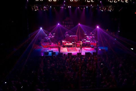 Concert Laser Light Shows at San Jose California