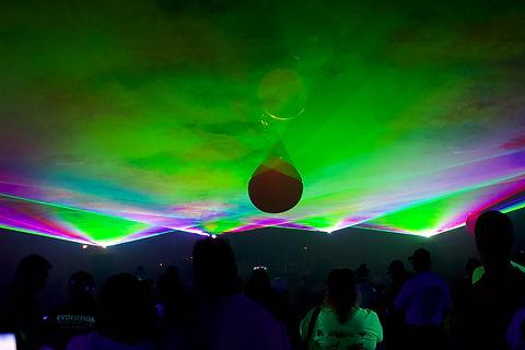 Shoreline Ampitheatre Concert Laser show