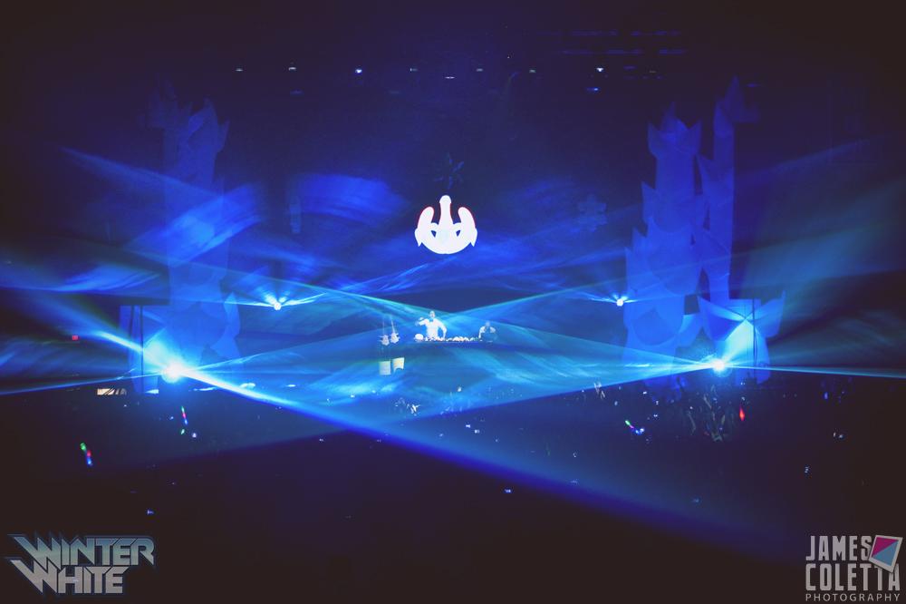 The Gallivan Center Concert Lasers