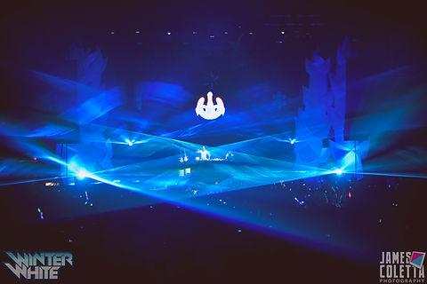 The Gallivan Center Concert Lasers Salt Lake CIty