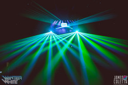Professional Laser Light show for Specia