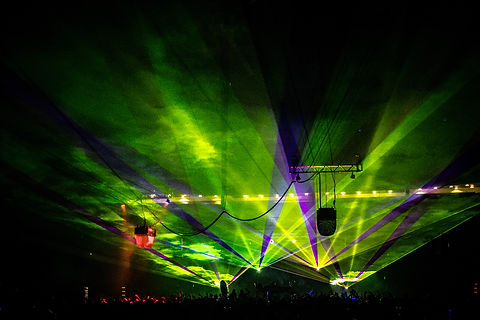 Kansas City, MO Special Effects Laser show