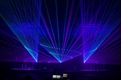 Fox Theatre concert epic concert lasers