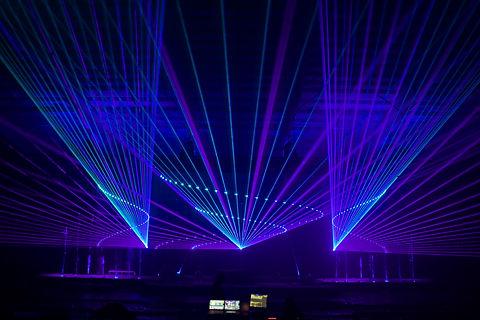 Fox Theatre concert epic concert laser show