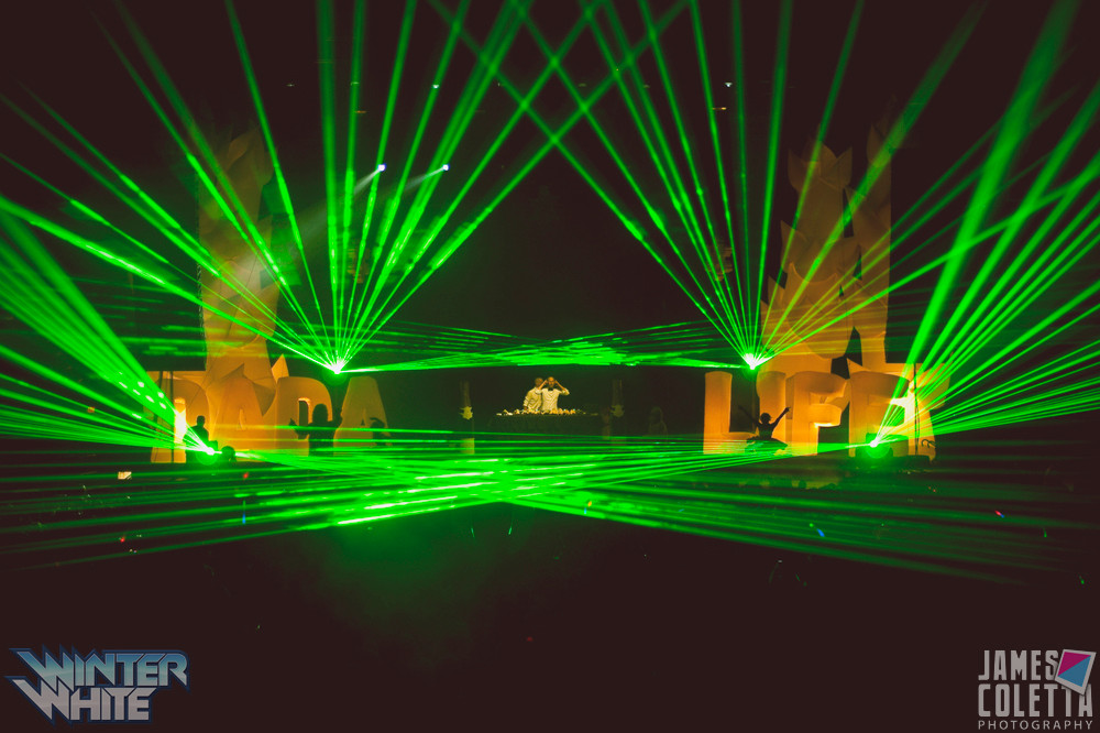 BB&T Pavillion Concert Laser Lights Phil