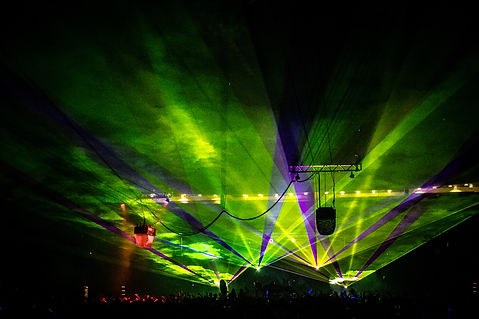 San Francisco, CA Concert Laser Light show