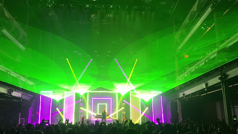 Metro Music Hall Salt Lake City, UT Laser Show