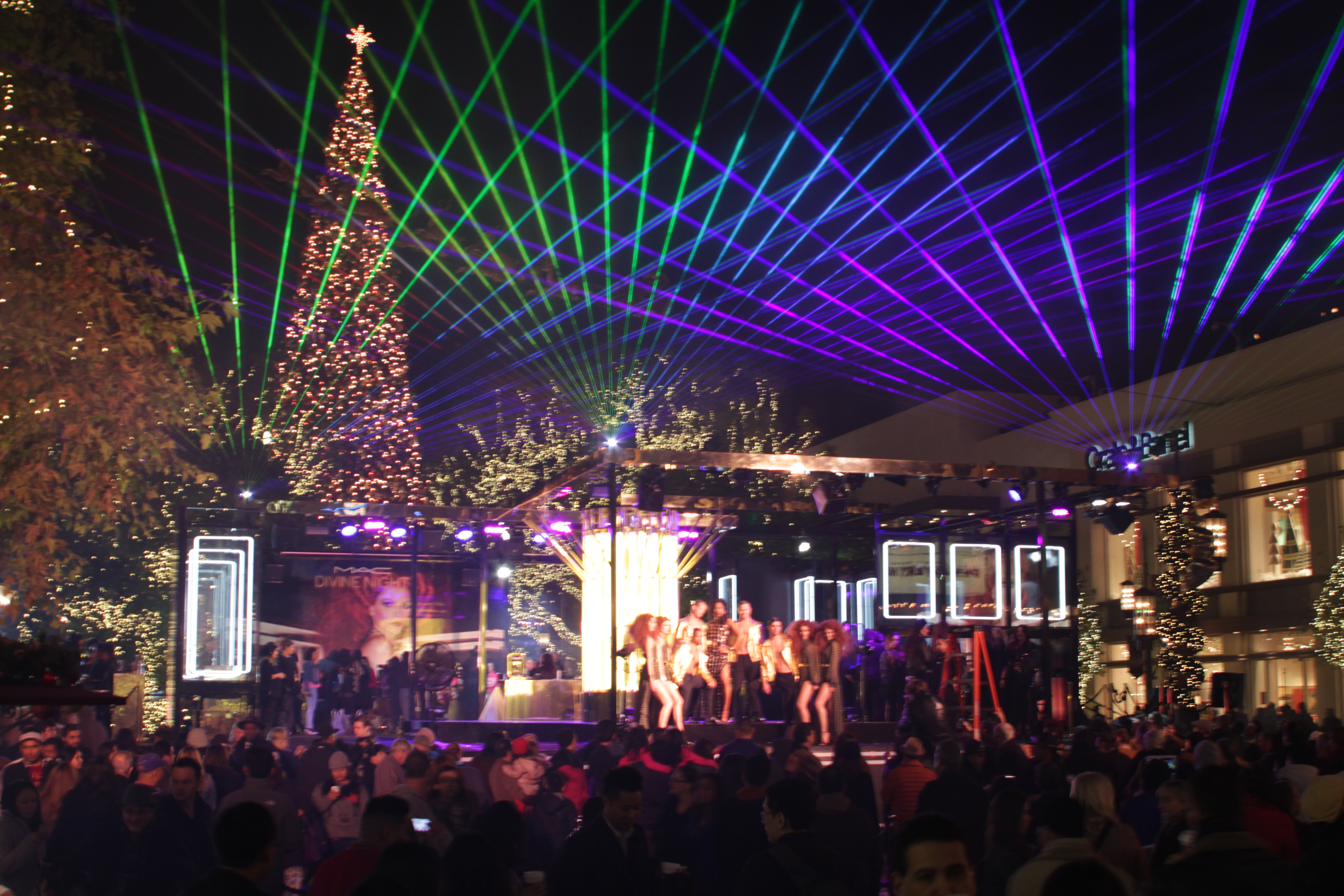 Outdoor Town Event Speical Event Laser S