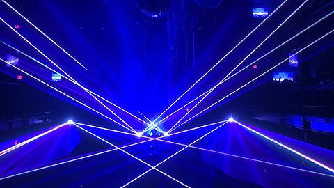Madison Square Garden Laser Light Show New York City