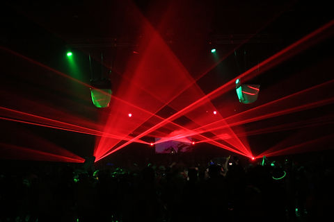Corperate Entertainment Special event laser show