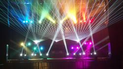 Toads Place Concert Laser Lights New Hav