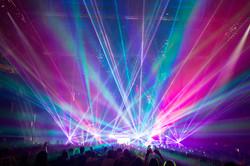 Richmond Coliseum Concert Lasers Special