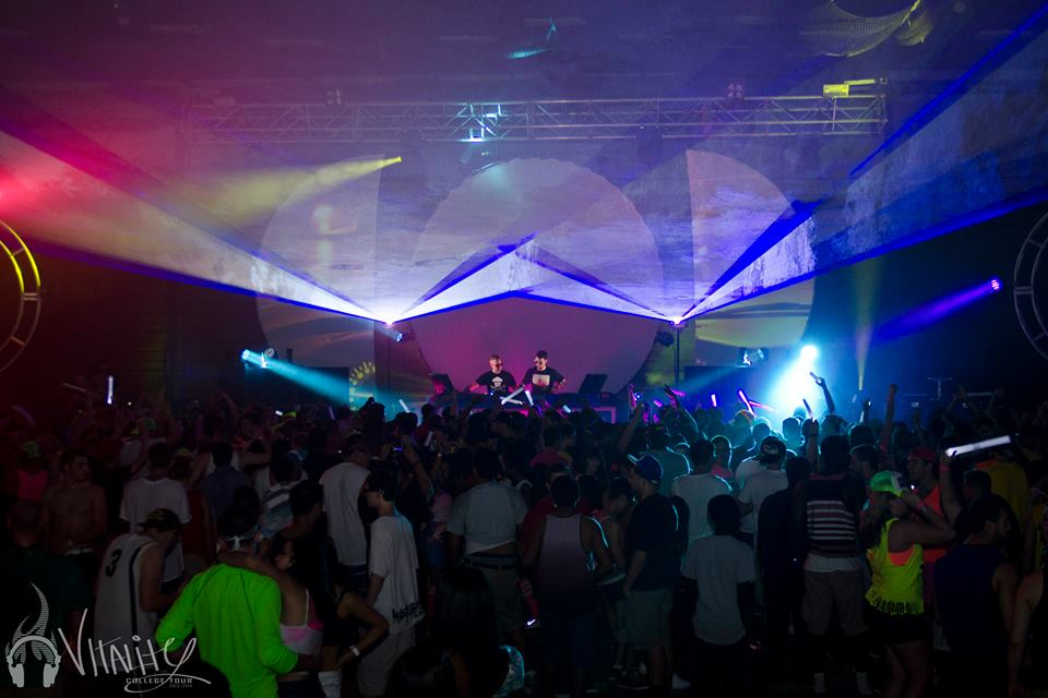 The Rave Concert Laser Light Show in Mlw
