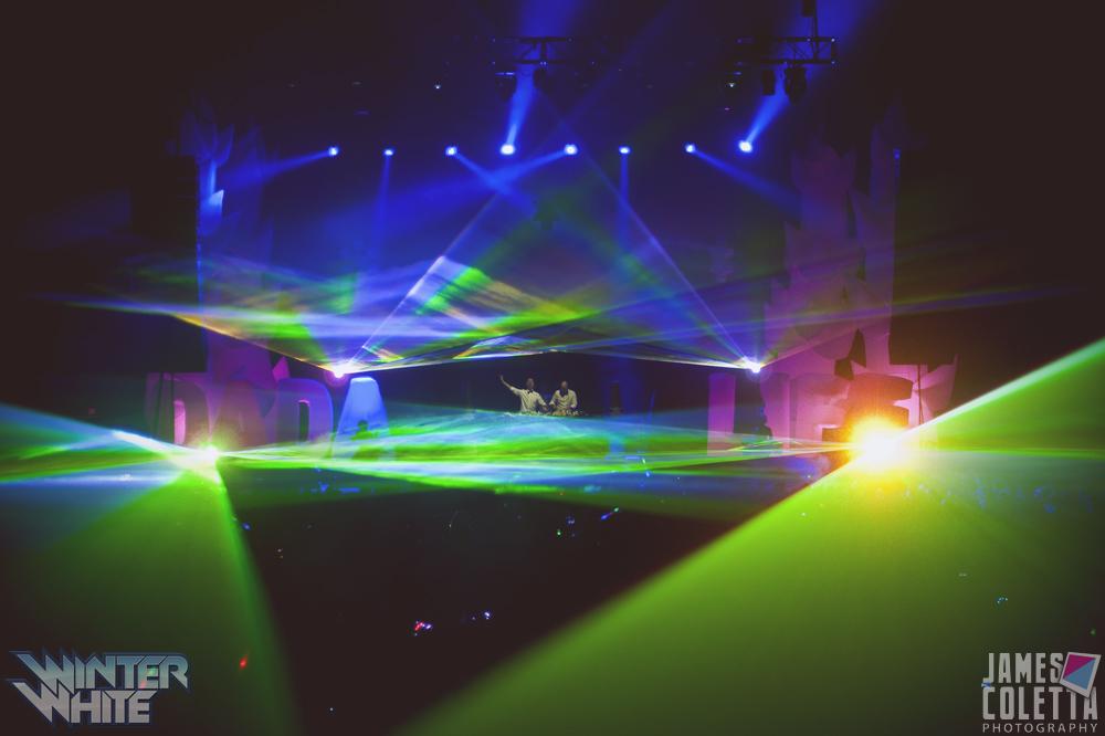 Power Plant Live! Concert Laser Show