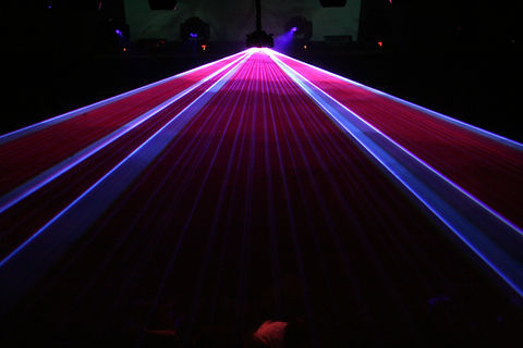 Corperate Special Event laser show
