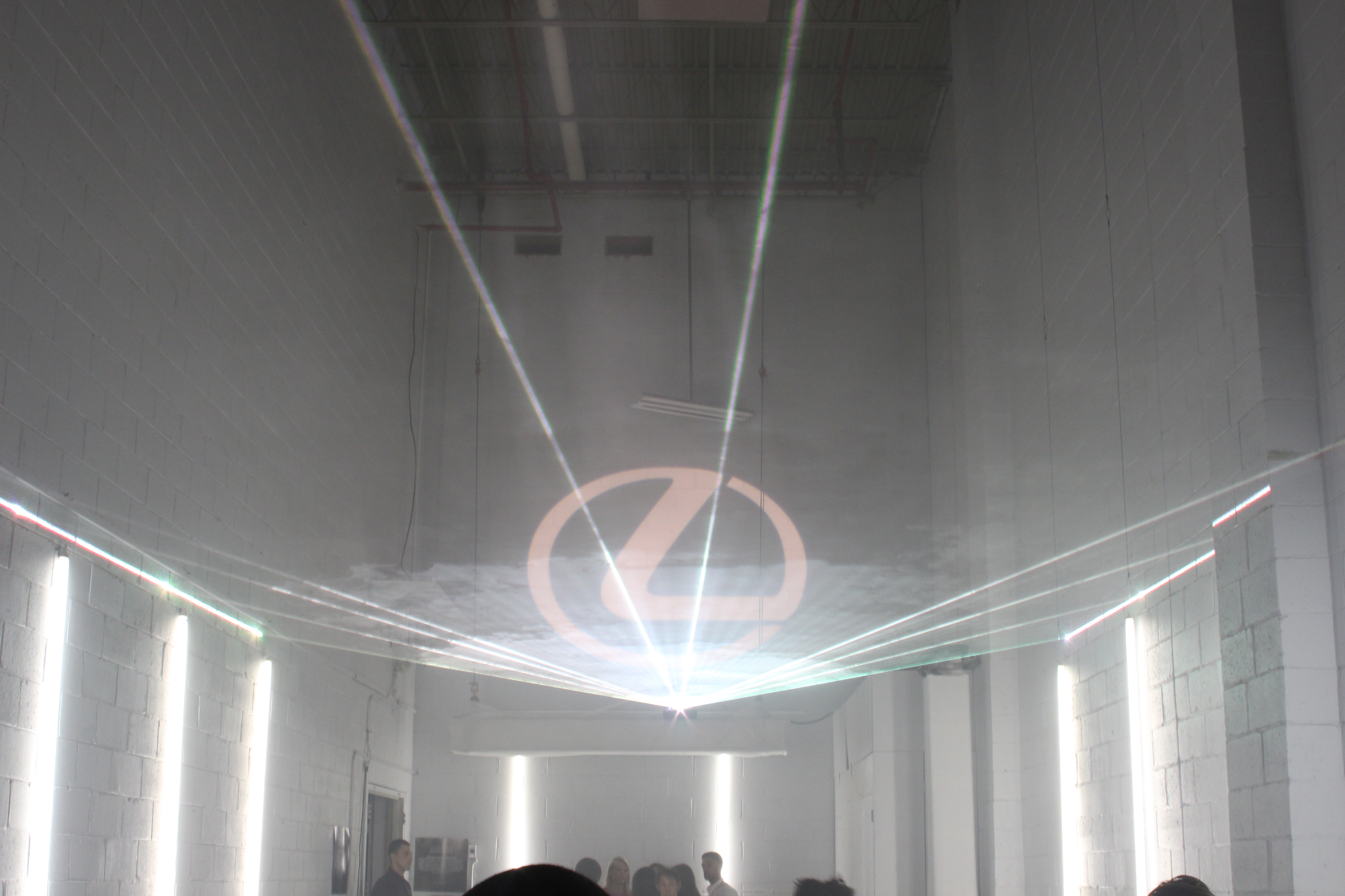 Corporate Special Event Laser Light Show