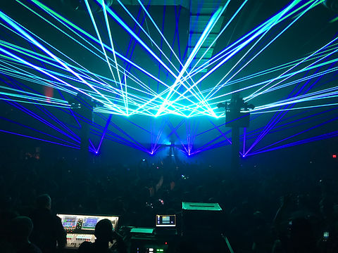 Express Live! Laser Light show Columbus OH