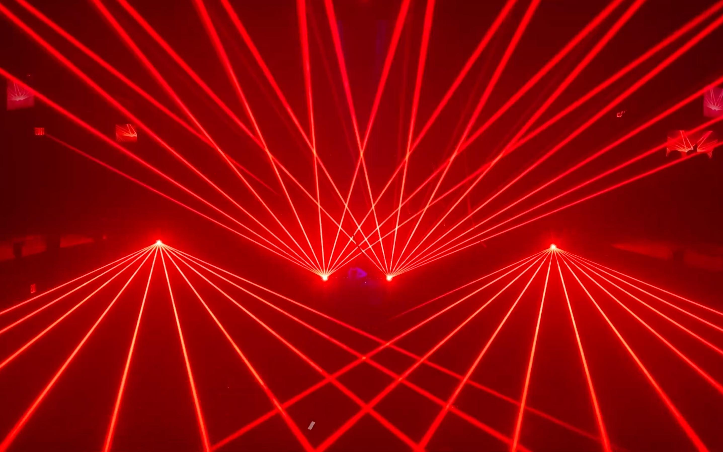 The Kimmel Center Concert Laser Light Sh