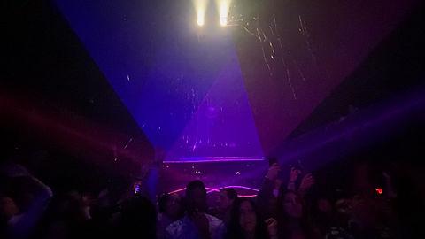 Webster Hall Concert and Club Laser Lights NYC
