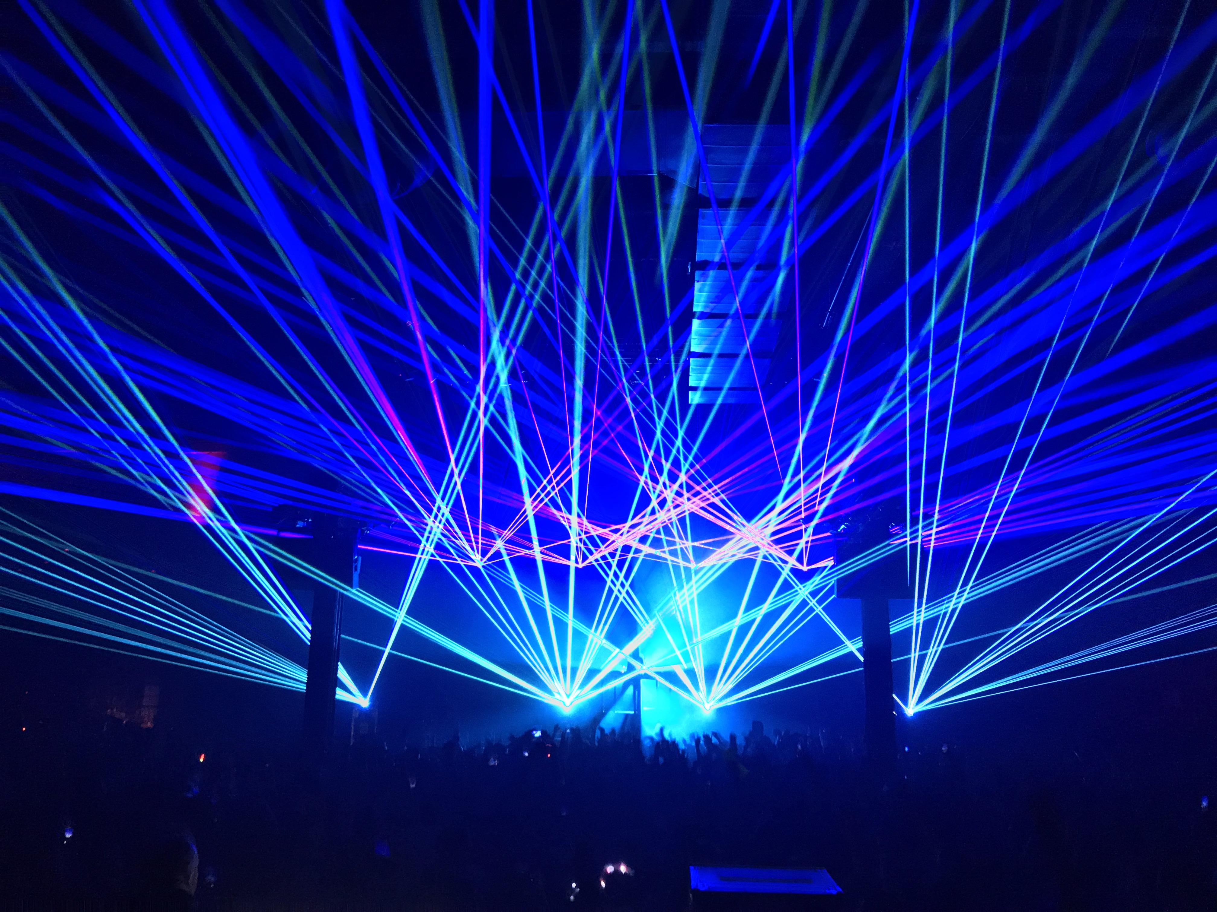 Avant Gardner EDM Laser Show Brooklyn, N