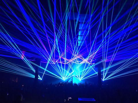 Avant Gardner EDM Laser Show Brooklyn, NYC