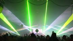 Nashville, Tenneesee Concert Laser show
