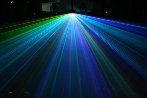 Newark Waterfront Center Special Event Laser Show