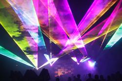 Orpheum Theater Party Laser Lighting Neb