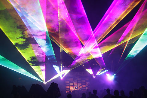 Orpheum Theater Party Laser Lighting Nebraska