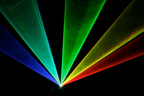Beautiful and Bright Special Event Laser show