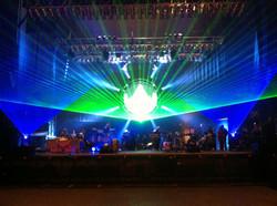 Concert Laser Show at Slowdown Omaha, Ne