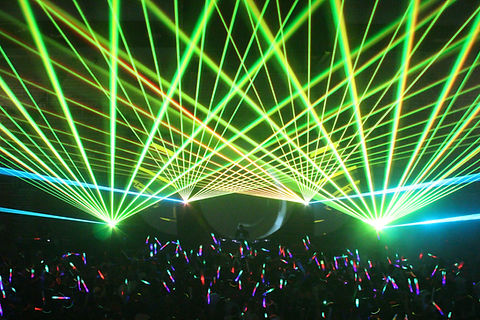 Concert Lasers at The Fillmore Miami Beach Florida